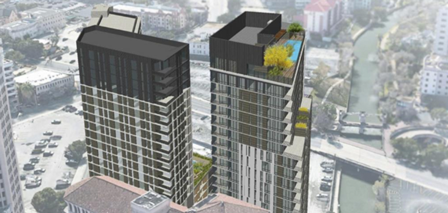 SAHA partnering with Dallas developer on 24-story tower downtown