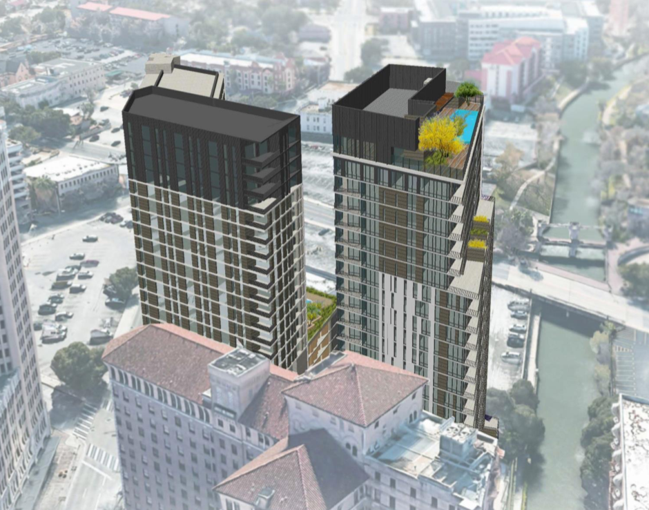 Dallas developer JMJ now wants to build two apartment towers—one with SAHA's help