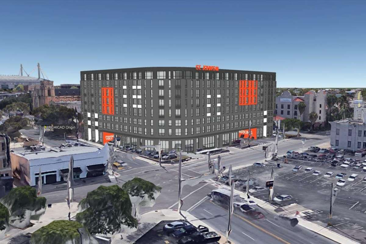Proposed eight-story apartment building near La Villita in downtown San Antonio gets initial city approval
